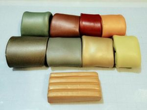 «Волшебный» прием, который обеспечивает гармоничное сочетание цветов в лепке из полимерной глины. Ярмарка Мастеров - ручная работа, handmade.
