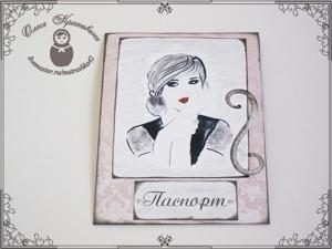 Делаем обложку на паспорт. Ярмарка Мастеров - ручная работа, handmade.