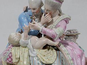 Волшебство Мейсенского фарфора. Жанровые статуэтки. Ярмарка Мастеров - ручная работа, handmade.