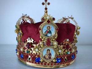 Венчальная корона ( женская ). Ярмарка Мастеров - ручная работа, handmade.