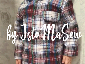 Шьем фланелевую рубашку с капюшоном. Ярмарка Мастеров - ручная работа, handmade.