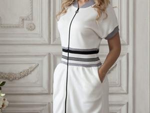 Аукцион на Комфортное платье в спортивном стиле! Старт 2500 р.!. Ярмарка Мастеров - ручная работа, handmade.