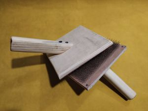 Как собрать чески для шерсти. Ярмарка Мастеров - ручная работа, handmade.