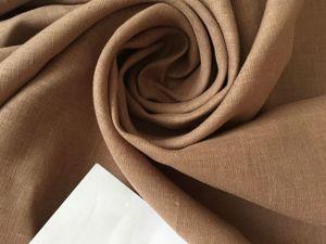 Новое поступление льняных тканей. Ярмарка Мастеров - ручная работа, handmade.