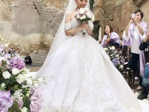 Wedding Gown by Tony Ward for Jane Zhang from China. Livemaster - handmade