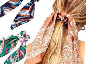 Самые модные и оригинальные аксессуары для волос себе и в подарок!. Ярмарка Мастеров - ручная работа, handmade.