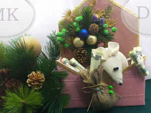 Символ 2020 года своими руками. Белая крыса в конверте. Ярмарка Мастеров - ручная работа, handmade.
