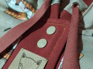 Новинка магазина: детский двухсторонний костюм. Ярмарка Мастеров - ручная работа, handmade.