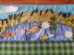 В подарок малышу: делаем развивающий коврик-трансформер. Часть 5. Ярмарка Мастеров - ручная работа, handmade.