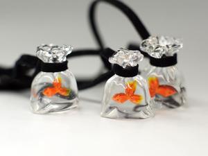 Распродажа! Комплект  « Золотая рыбка» : серьги и кулон. Ярмарка Мастеров - ручная работа, handmade.