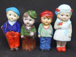 Винтажные японские куколки. Ярмарка Мастеров - ручная работа, handmade.