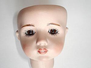 Как вставить глаза фарфоровой кукле. Ярмарка Мастеров - ручная работа, handmade.