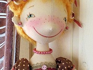 Создаем кукольную прическу. Бигудюшки. Ярмарка Мастеров - ручная работа, handmade.