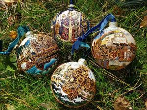 Видео по елочным игрушкам  «Русские сказки» -. Ярмарка Мастеров - ручная работа, handmade.