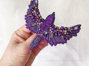 Об аксессуарах фиолетового цвета. Ярмарка Мастеров - ручная работа, handmade.