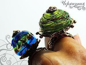 Применение основ для колец: делаем стильное украшение. Ярмарка Мастеров - ручная работа, handmade.