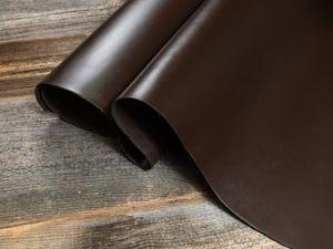 Юфть покрывного крашения (пылевидный Таллер 2.0-2.2мм. Ярмарка Мастеров - ручная работа, handmade.