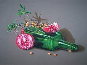 Рисуем яркий натюрморт сухой пастелью. Ярмарка Мастеров - ручная работа, handmade.