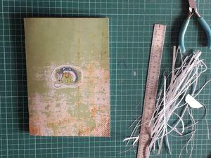 Мастерим простой блокнот за 10 минут. Ярмарка Мастеров - ручная работа, handmade.