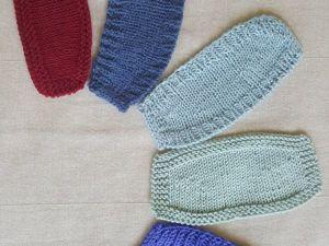 5 способов вязания укороченными рядами. Ярмарка Мастеров - ручная работа, handmade.