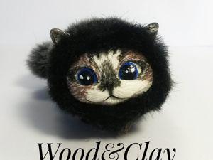 Создаём котика из полимерной глины. Часть 3. Ярмарка Мастеров - ручная работа, handmade.