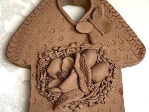 Лепим из глины Пасхальную композицию «Домик». Ярмарка Мастеров - ручная работа, handmade.