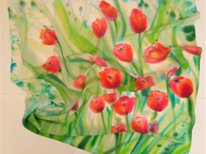 Новая коллекция весенних платков. Ярмарка Мастеров - ручная работа, handmade.