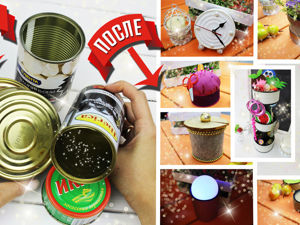 8 идей поделок из консервных банок. Ярмарка Мастеров - ручная работа, handmade.