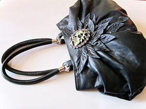 Как сделать выкройку сумки методом наколки. Ярмарка Мастеров - ручная работа, handmade.