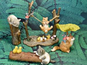 Моя коллекция фигурок с котиками ч.1. Ярмарка Мастеров - ручная работа, handmade.