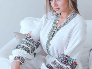 Одежда со славянской вышивкой — Оберег!. Ярмарка Мастеров - ручная работа, handmade.