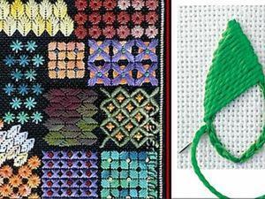 Волшебство вышивки. Часть 3: швы и строчки. Ярмарка Мастеров - ручная работа, handmade.
