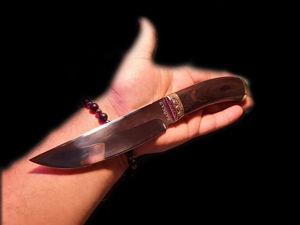 Нож охотничий. Ярмарка Мастеров - ручная работа, handmade.