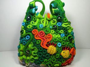 Видео новой сумочки  «Аквариум с золотыми рыбками». Ярмарка Мастеров - ручная работа, handmade.