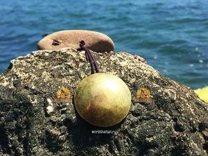 Зеркало из латуни кованое — видео запись с моря. Ярмарка Мастеров - ручная работа, handmade.