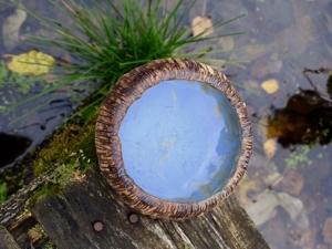 Лесное озеро. Ярмарка Мастеров - ручная работа, handmade.