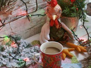 Шьём петушка к Новому году. Часть 1. Ярмарка Мастеров - ручная работа, handmade.