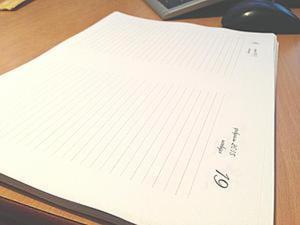 Датированный ежедневник. Разлиновка в Microsoft Excel. Ярмарка Мастеров - ручная работа, handmade.
