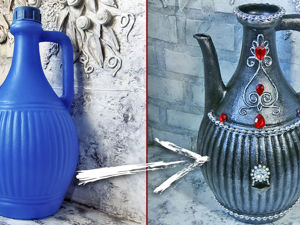 Video Tutorial: Remaking Plastic Jug. Livemaster - handmade