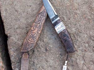 Как сделать нож скандинавского типа. Часть 2 и 3. Ярмарка Мастеров - ручная работа, handmade.