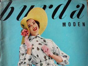 Burda moden 3/1957  Бурда Моден. Ярмарка Мастеров - ручная работа, handmade.