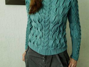 Новая модель свитера. Ярмарка Мастеров - ручная работа, handmade.