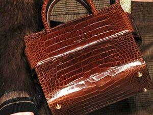 Мода на сумки из экзотической кожи. Ярмарка Мастеров - ручная работа, handmade.