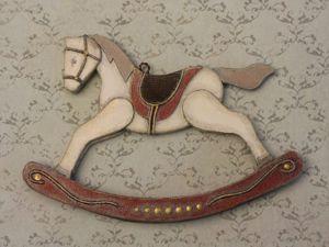 Как сделать лошадку-качалку из картона. Ярмарка Мастеров - ручная работа, handmade.