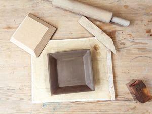 Лепим из глины тарелку. Ярмарка Мастеров - ручная работа, handmade.