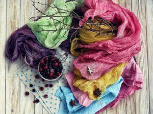 Красим ткань натуральными красителями в домашних условиях. Ярмарка Мастеров - ручная работа, handmade.