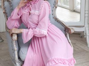 Видео-ролик, платье  «Розовая черемуха». Ярмарка Мастеров - ручная работа, handmade.