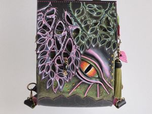 Рюкзак-сумка  «Радужный дракон». Ярмарка Мастеров - ручная работа, handmade.