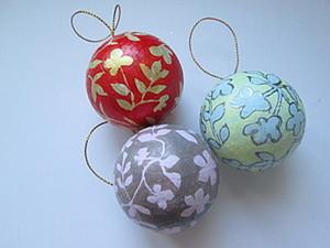 Елочный шарик. Ярмарка Мастеров - ручная работа, handmade.