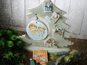 И снова про Новый год). Ярмарка Мастеров - ручная работа, handmade.
